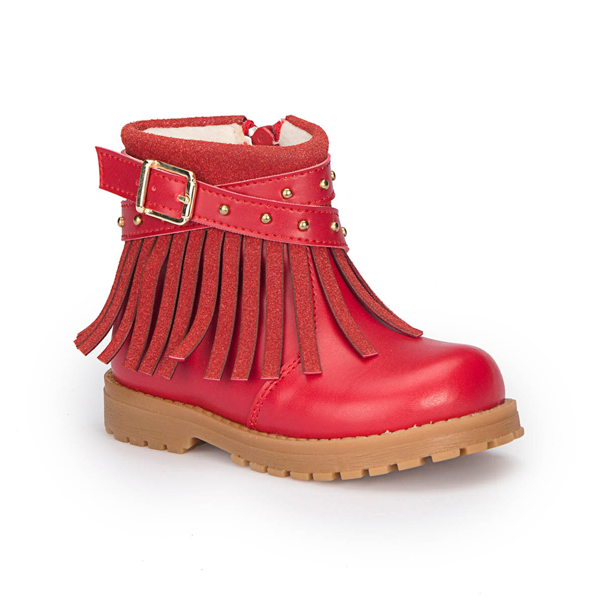 FLO 72.509538.B Red Female Child Boots Polaris