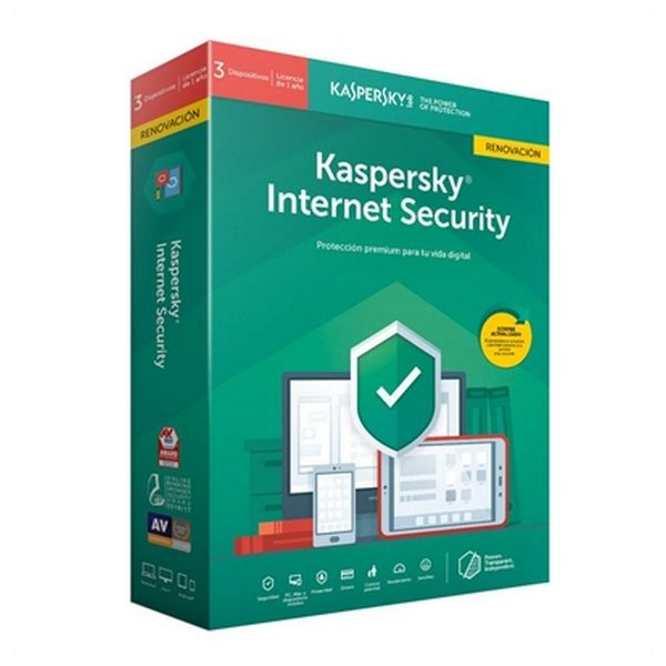 Home Antivirus Kaspersky Internet Security MD 2019 RN Windows MacOS