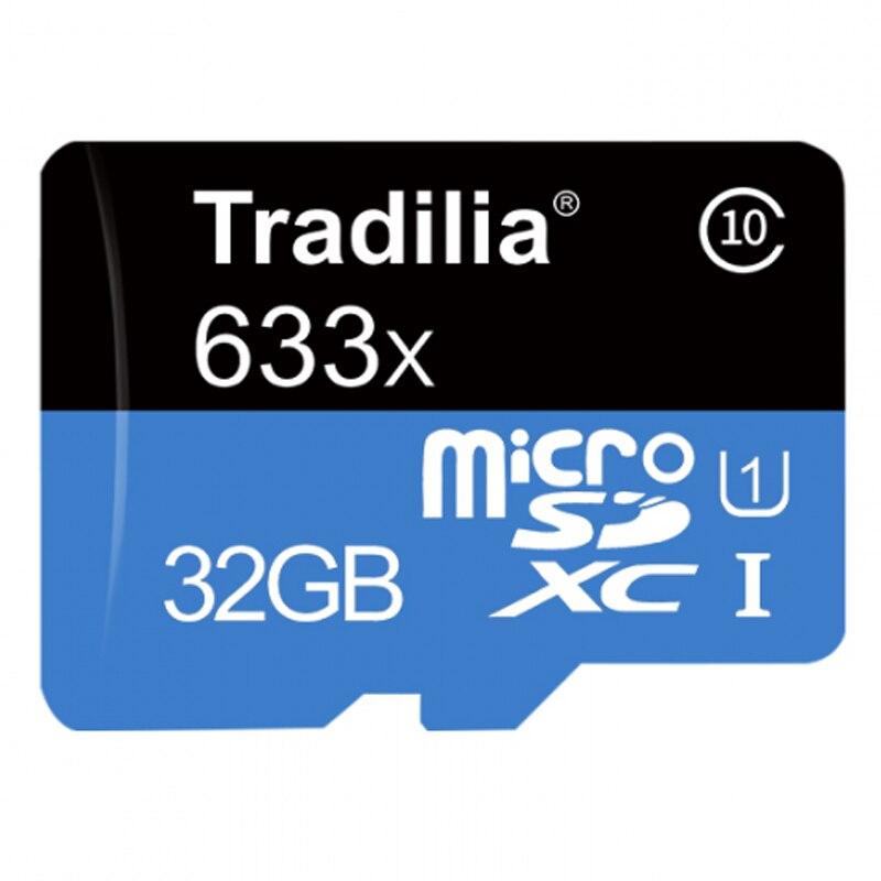 Tarjeta De Memoria Micro SD Tradilia®Fashion 32 Hard GB With Adapter Class 10 MicroSD 4k