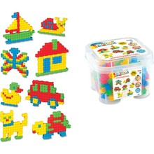 Puzzle Colorful Ability Puzzle Capability Coordination Girl Male Child Imagination Intelligence Mother Family Friend Gift 2021 2-7 Age