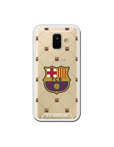 Официальный сетчатый чехол FC Барселона для Samsung Galaxy A6 2018