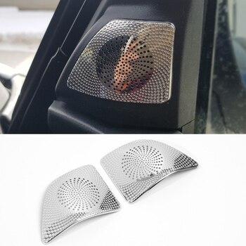 Interior espejo lateral audio sonido decorativo moldura cubierta para Mitsubishi Pajero IV V80 Montero limitado Super excede