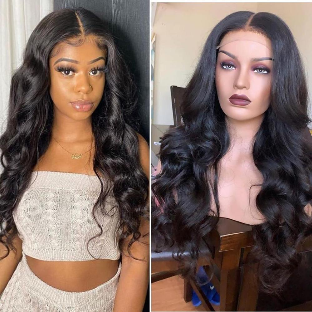 360 Lace Frontal Wig Pre Plucked With Baby Hair Peruvian Body Wave Wig Lace Human Hair Wigs For Black Women