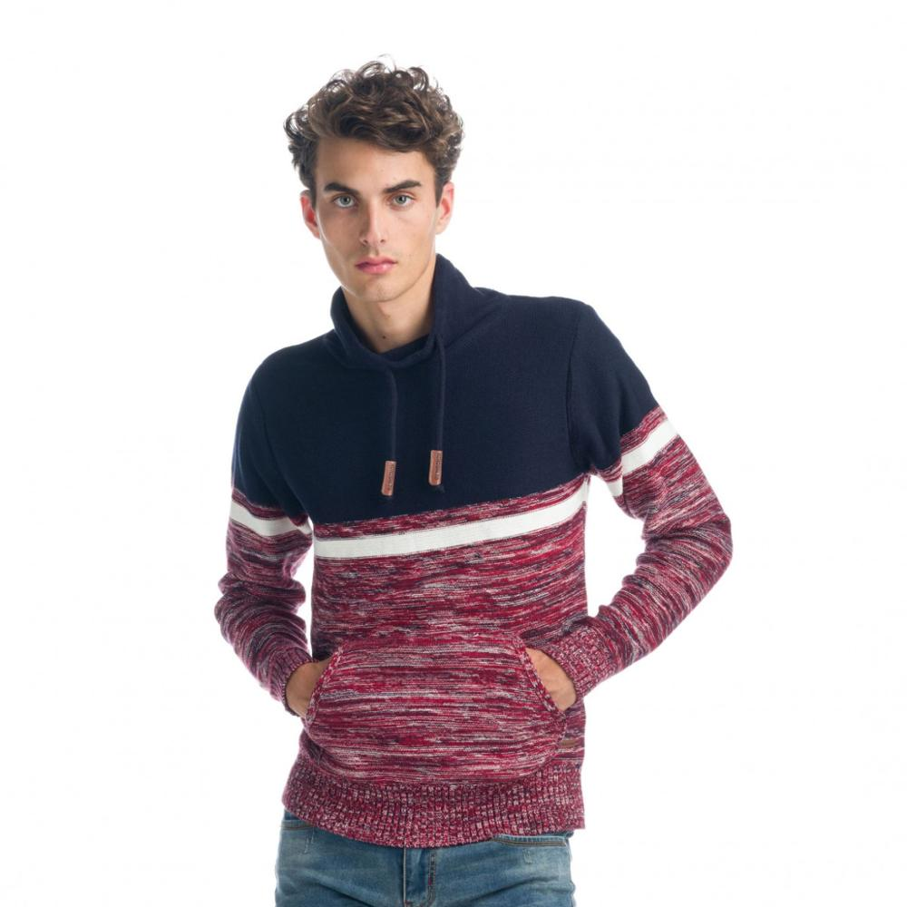 KOROSHI JERSEY HEATHER EFFECT AND TURTLENECK MAN