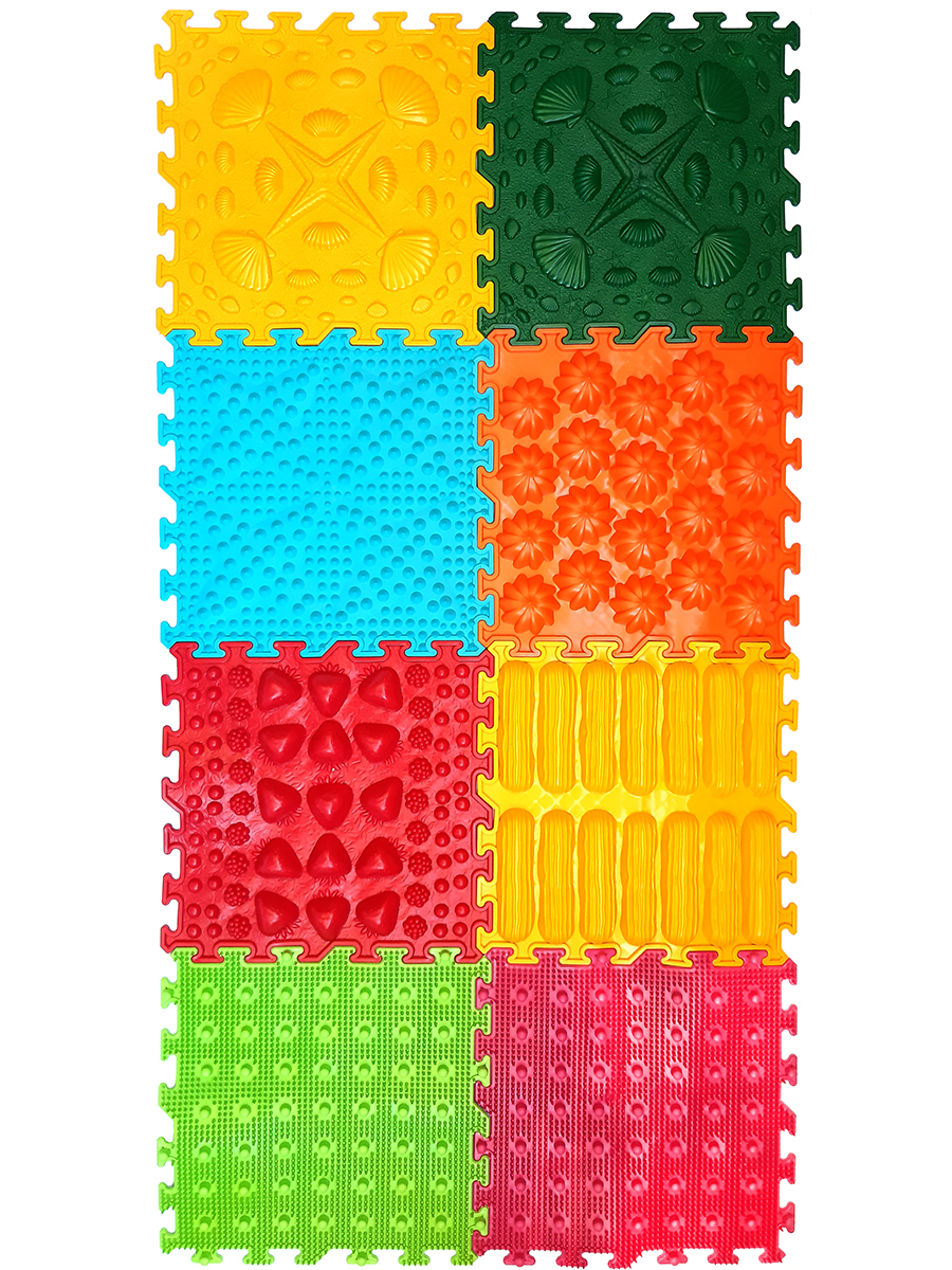 NEW Massage Modular Mat Puzzle Master Foot Set 8.61