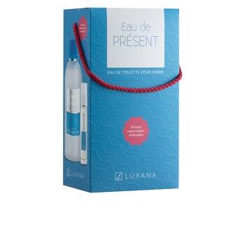 Women's Perfume Set Eau De Présent Luxana (2 pcs)