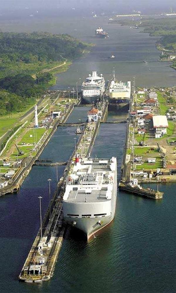 《巴拿马运河》封面图片