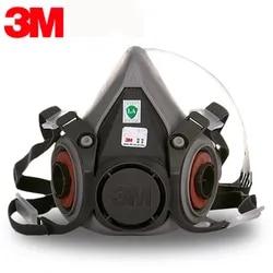 3M 6200 Mezza Facciale Respiratore Riutilizzabile + 3M P3R Particolato Filtri Fascio best Soluzione Contro Corona Viruse FFP3 n95 N99