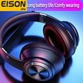Беспроводные наушники EISON, игровая гарнитура с низкой задержкой, супер стерео эффект звука, складные наушники для телефона xiaomi, iphone