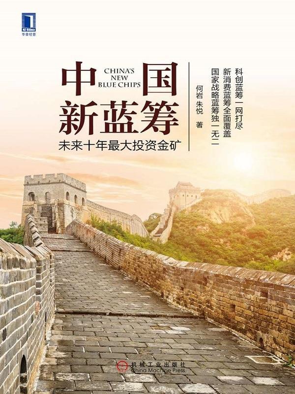 《中国新蓝筹:未来十年最大投资金矿》何岩 & 朱悦【文字版_PDF电子书_下载】
