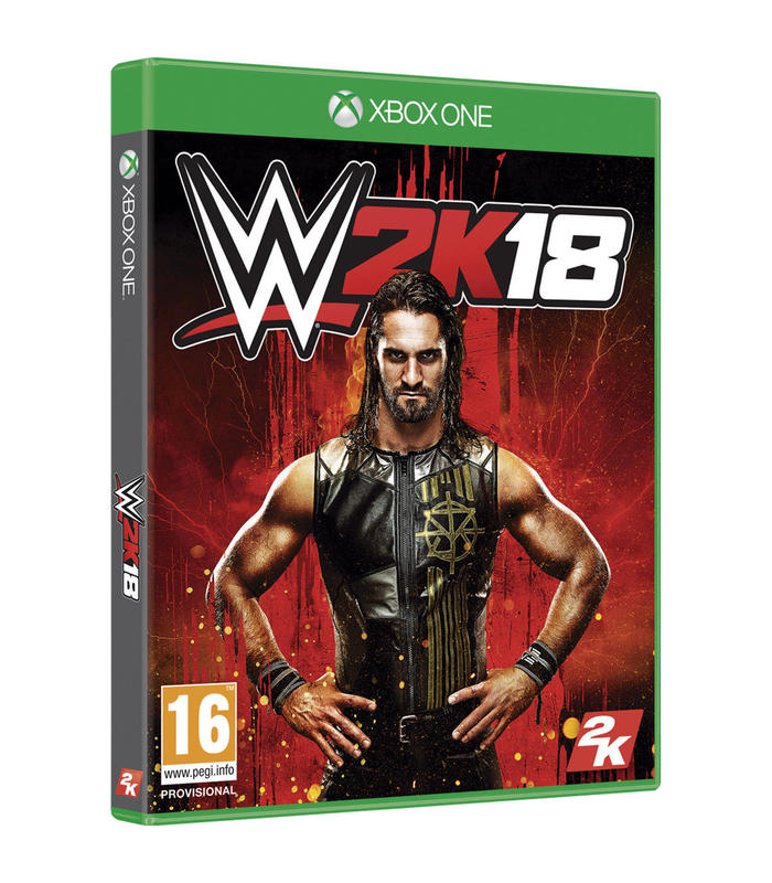 Wwe 2k18 Xbox One Xbox One Games Take 2 Games Age 16 + image