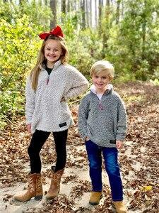 Image 5 - Детские пуловеры из искусственного меха; куртки для мальчиков и девочек; осенне зимние детские пальто