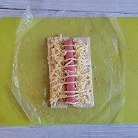 手抓饼的第101种吃法❗️丹麦火腿酥的做法图解7