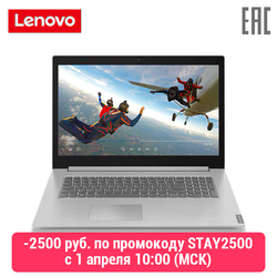 Laptop Lenovo L340-17iwl/17.3 Fhd Ips Ag 300N/Pentium 5405u 2.3G/8 Gb/1 Tb hdd/Geïntegreerde/Dos/Platina Grijs (81m0003krk
