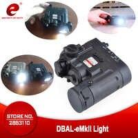 Element Armas Airsoft Flashlight DBAL-EMKII IR Red Laser Led Torch IR illuminator Softair DBAL-D2 Gun Weapon Scout Light EX328