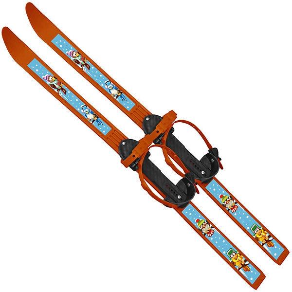 Skis With Sticks