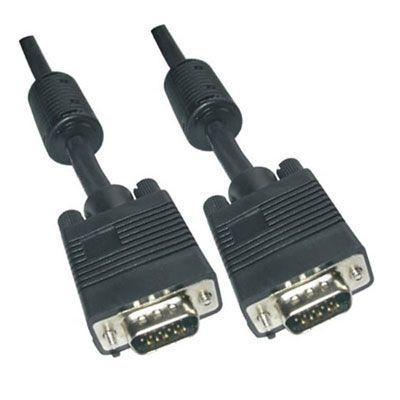 Câble moniteur VGA mâle-mâle Ferrite 3 + 4 20mts