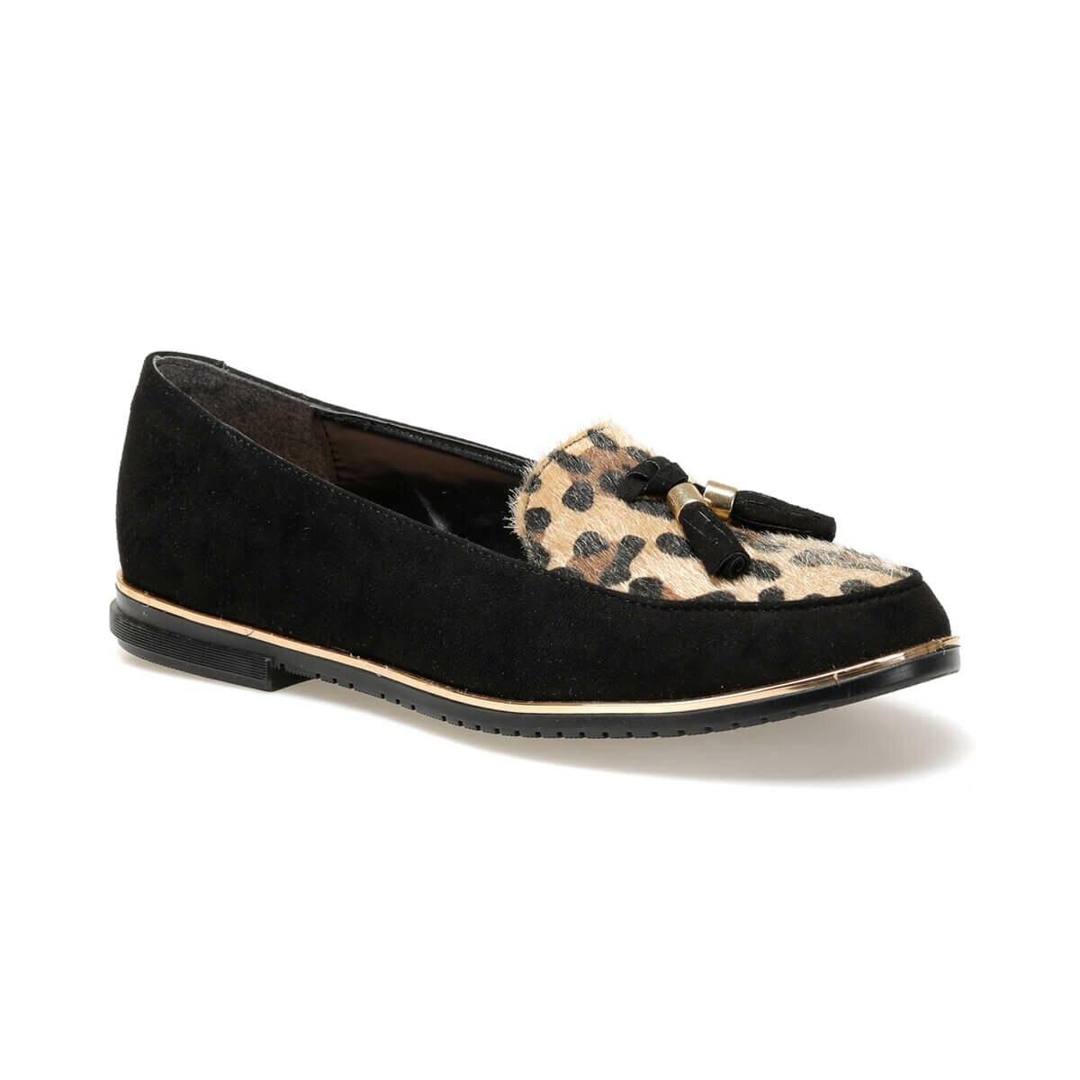 FLO 19K-098 Black Women Loafer Shoes BUTIGO