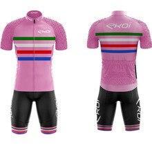 Pro EKOI cycling jersey men short sleeve team custom clothing  ropa maillot ciclismo bicicleta bib Bike suit