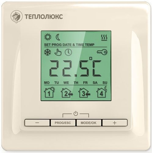Терморегулятор Теплолюкс ТР 520 Бежевый