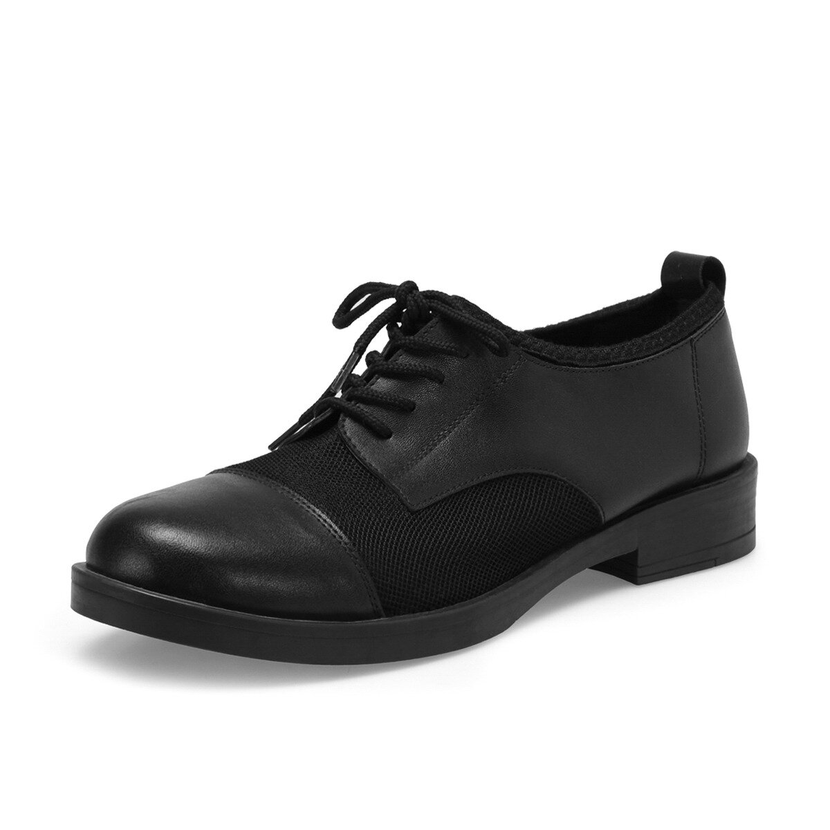 FLO DS17037-19S Black Women Gova Shoes Miss F