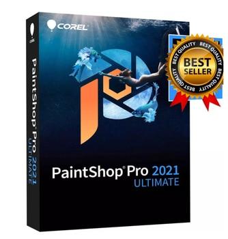 Corel PaintShop Pro 2021 Ultimate | Photo Editing & Graphic Design Software PLUS Creative