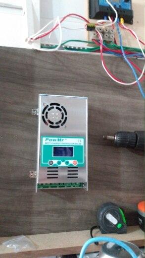 Controladores solares Painel Painel Controlador