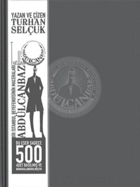 Abdülcanbaz - 3. Serial Adventures (Special Edition) Turhan Selcuk Cafe City Publications