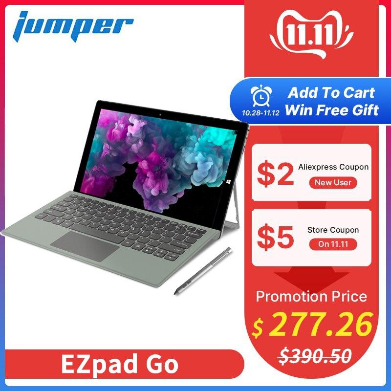 Jumper ezpad ir 2 em 1 tablet pc 11.6 polegada ips exibir windows tablet com caneta intel apollo lago n3450 4 gb ram 128 gb ssd tablet
