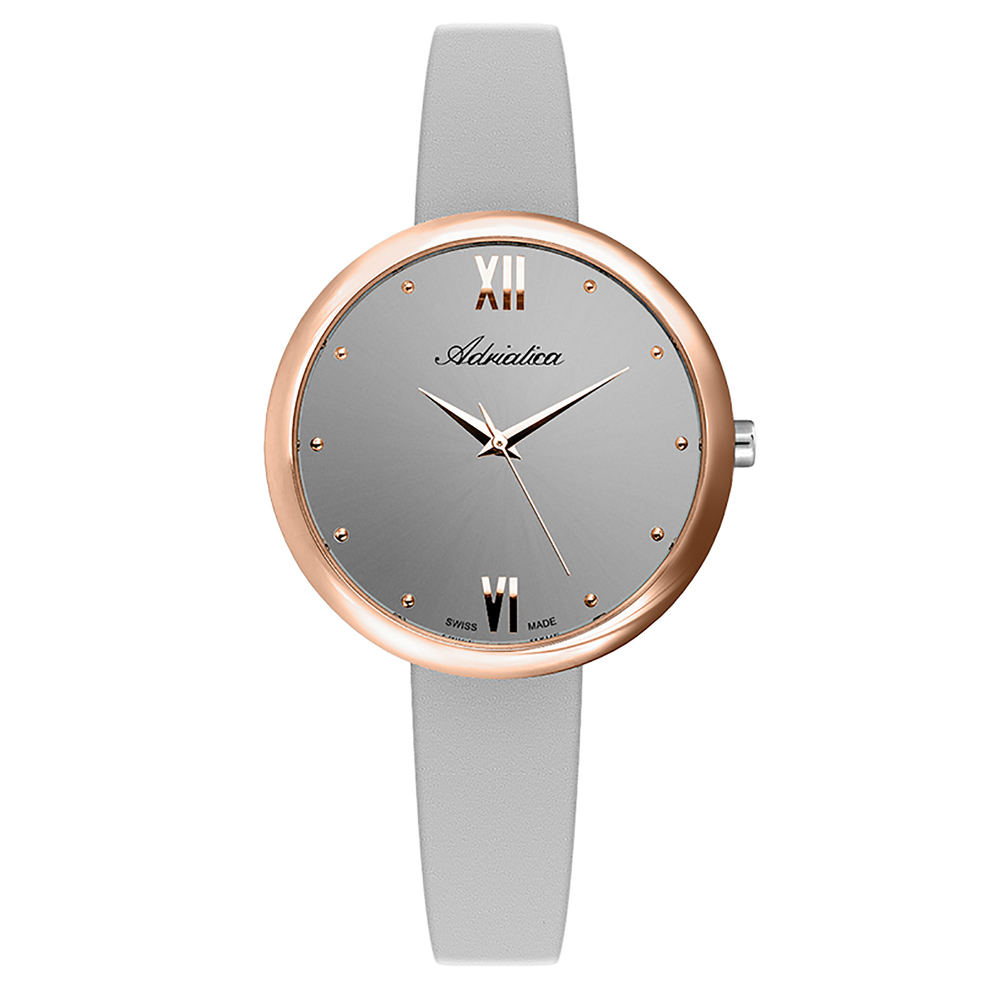 Women's Watch A3632.9g87q Leather Strap Mineral Glass SUNLIGHT