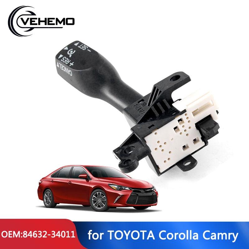 Vehemo Новый переключатель управления s 84632-34017 Для Toyota Camry Corolla 84632-34011