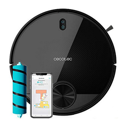 Robot Vacuum Cleaner Cecotec Conga 3590 2300 Pa 3200 mAh WiFi Black