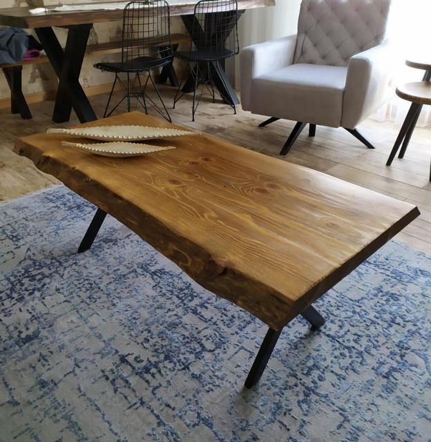 Ağaç orta sehpa Wooden Coffee Table 2