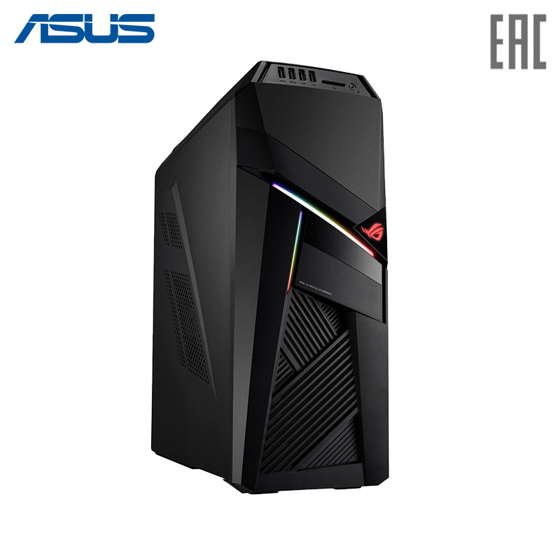 Gaming PC Asus GL12CS-RU001T I7-8700/2666 16G/1TB + 128G SSD/NV GTX1060/ 6GD5/WiFi/DVD RW/BT/Win 10 (90PD02Q1-M01660)