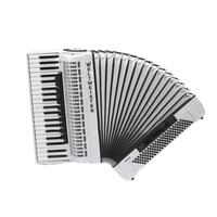 Saphir iv 120/41 wh is Saphir accordion 41/120/IV/11/5, white, Italy plates, Weltmeister