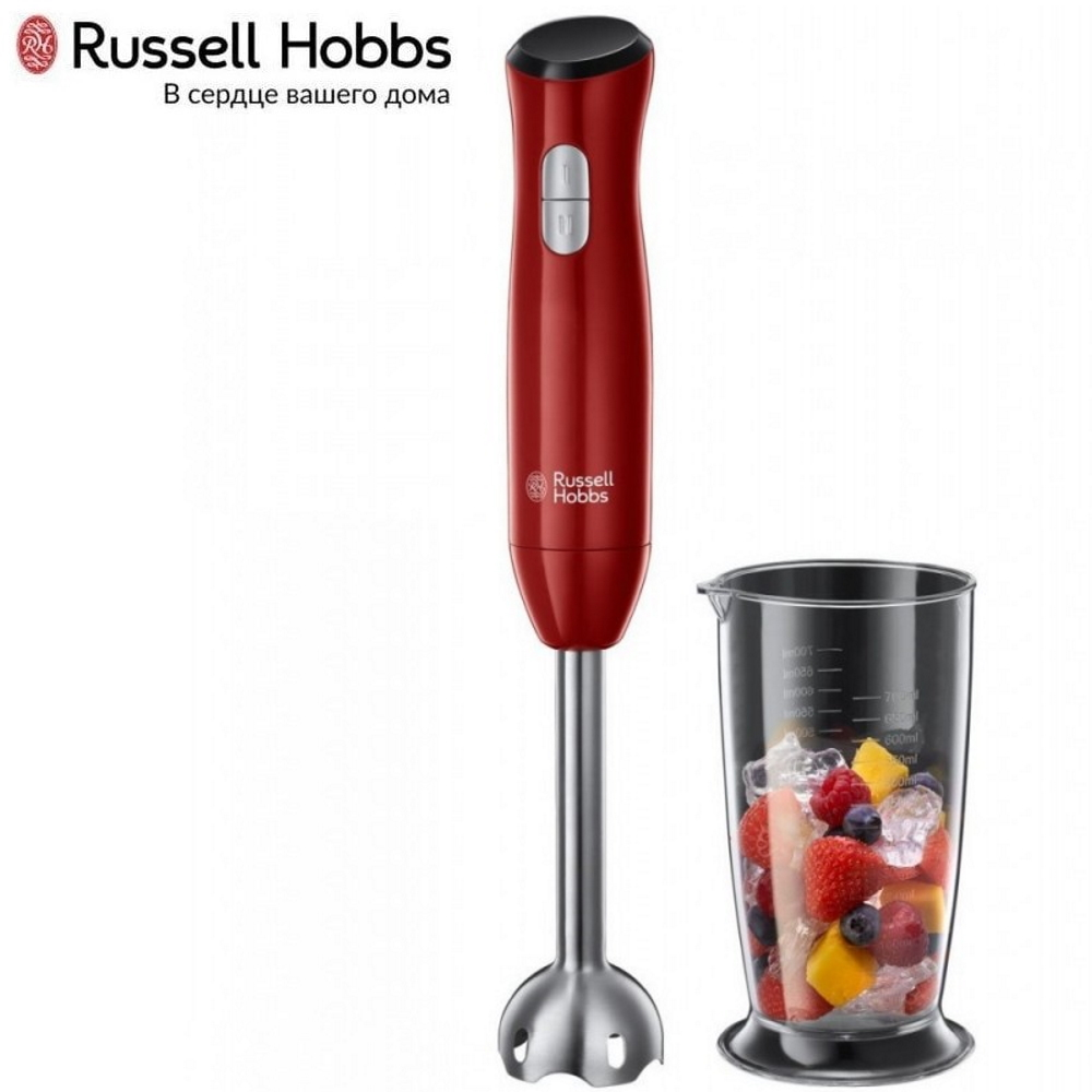 Submersible blender Russell Hobbs 24690-56 Blender smoothies kitchen Juicer Portable blender kitchen Cocktail shaker Chopper Electric Mini blender blender xp