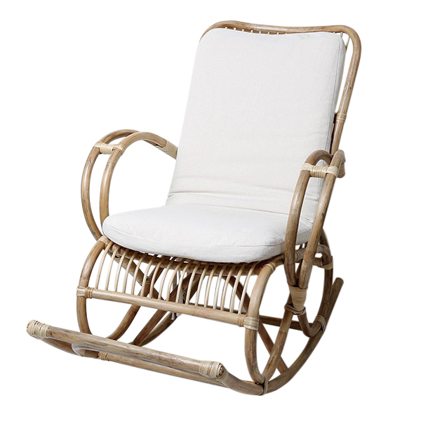 Rocking Chair (136 x 95 x 70 cm) Rattan|  - title=