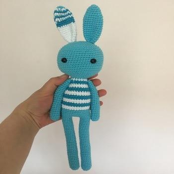 цена Amigurumi Bunny crochet rabbit Crochet Toy crochet toy for a newborn or child gift,newborn shower онлайн в 2017 году