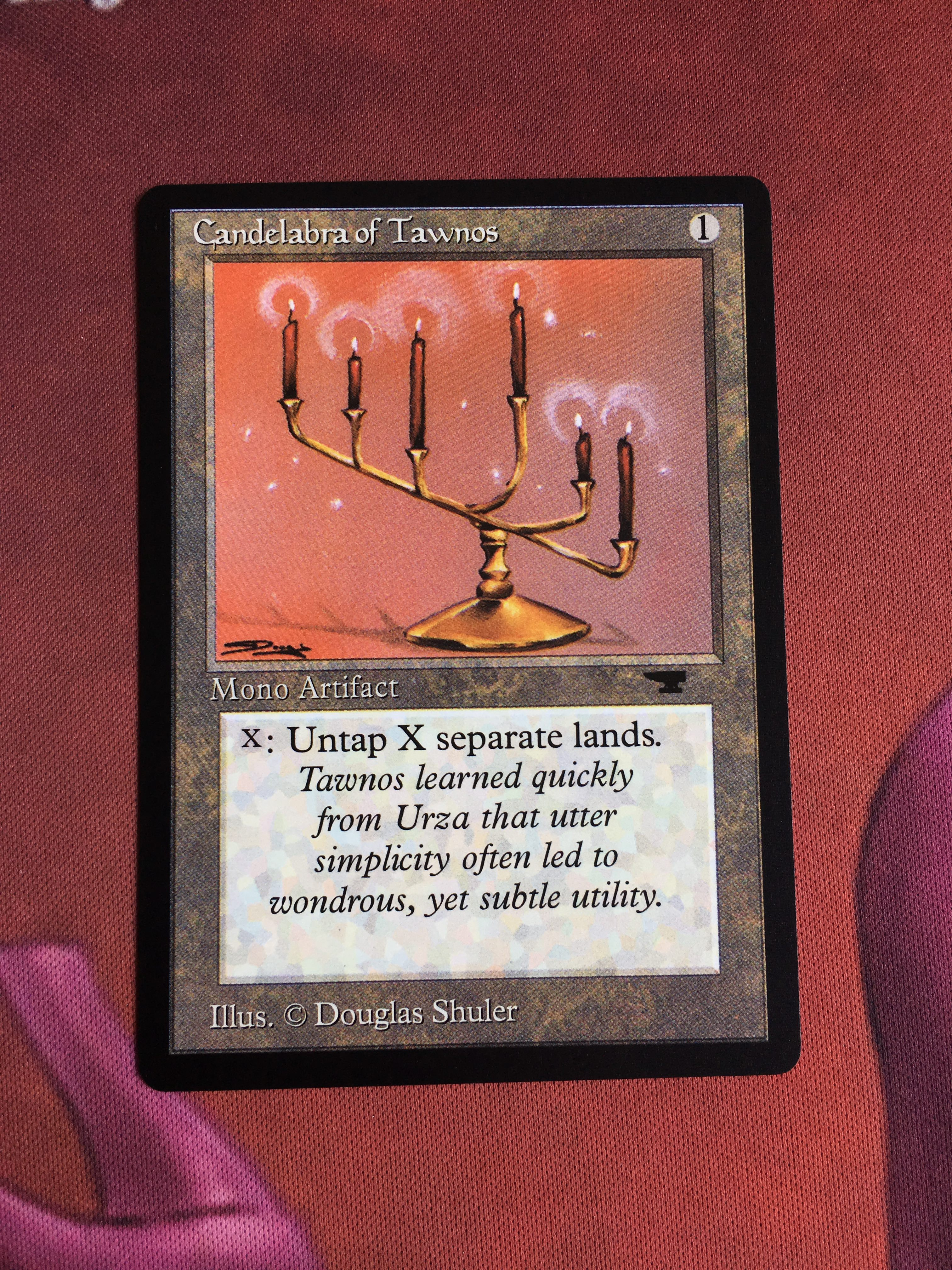Candelabra Of Tawnos Antiquities Magician ProxyKing 8.0 VIP The Proxy Cards To Gathering Every Single Mg Card.