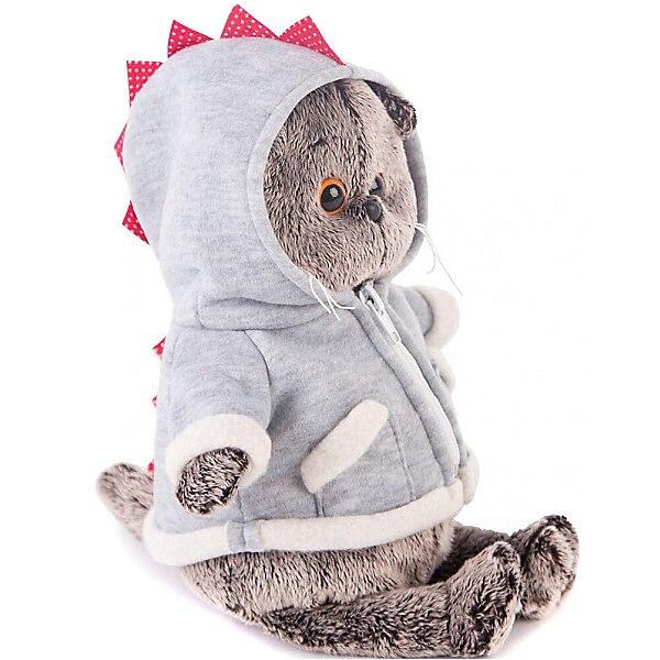 Soft Toy Budi Basa Cat Basik In Hoodie