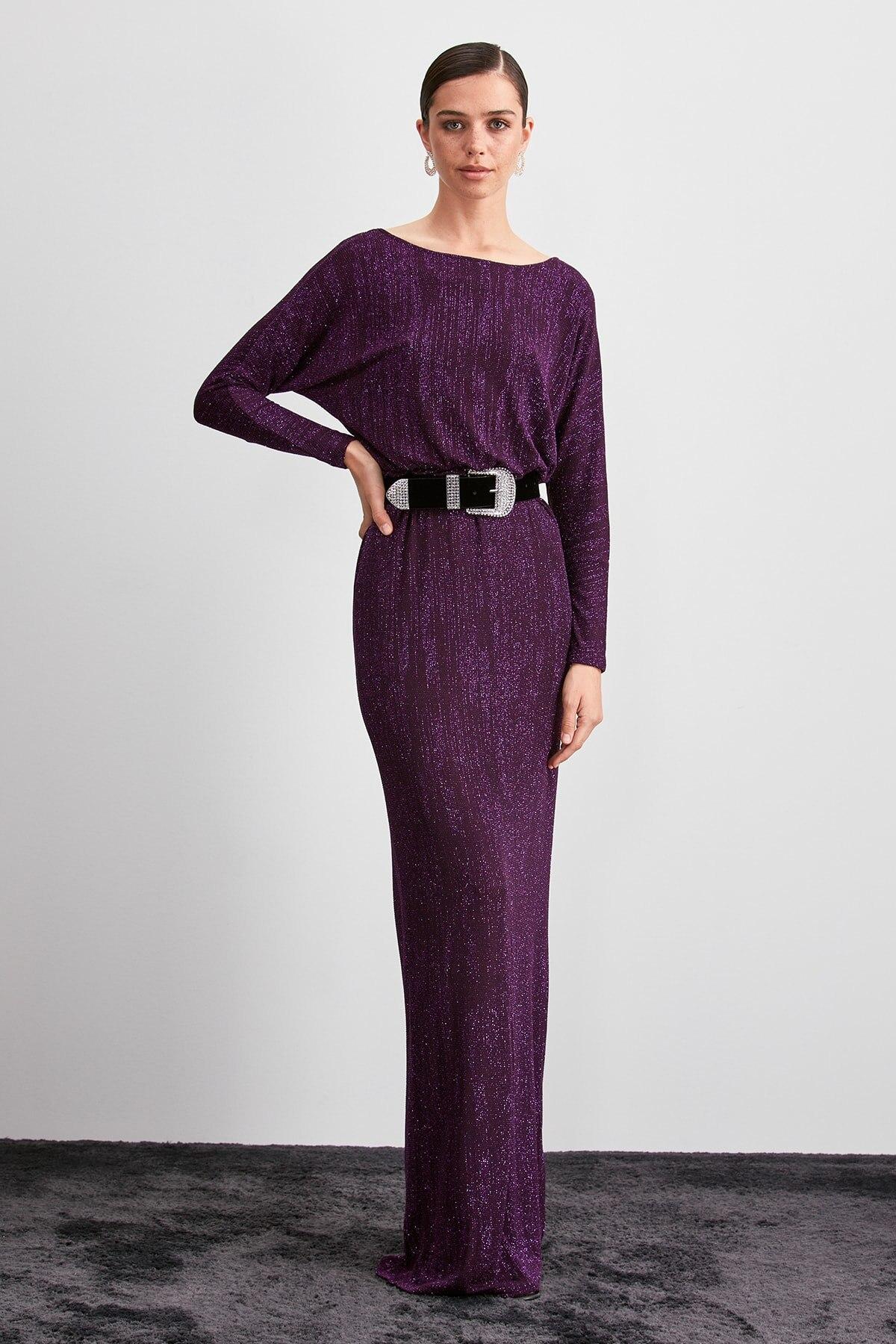 Trendyol Bluzan Evening & Prom Gown TPRSS20AE0005