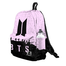 Рюкзак 3D с принтом «BTS 5» для мальчиков и девочек, для работы в школе, для путешествий с ноутбуком, водонепроницаемый рюкзак