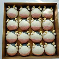 #福气年夜菜#丑萌奶牛豆沙面包的做法图解19