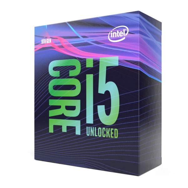 Prozessor Intel Core i5 9600K 3,7 GHz 9 MB