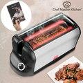 Портативная электрическая духовка Smart Rotisserie S с книгой рецептов 600W