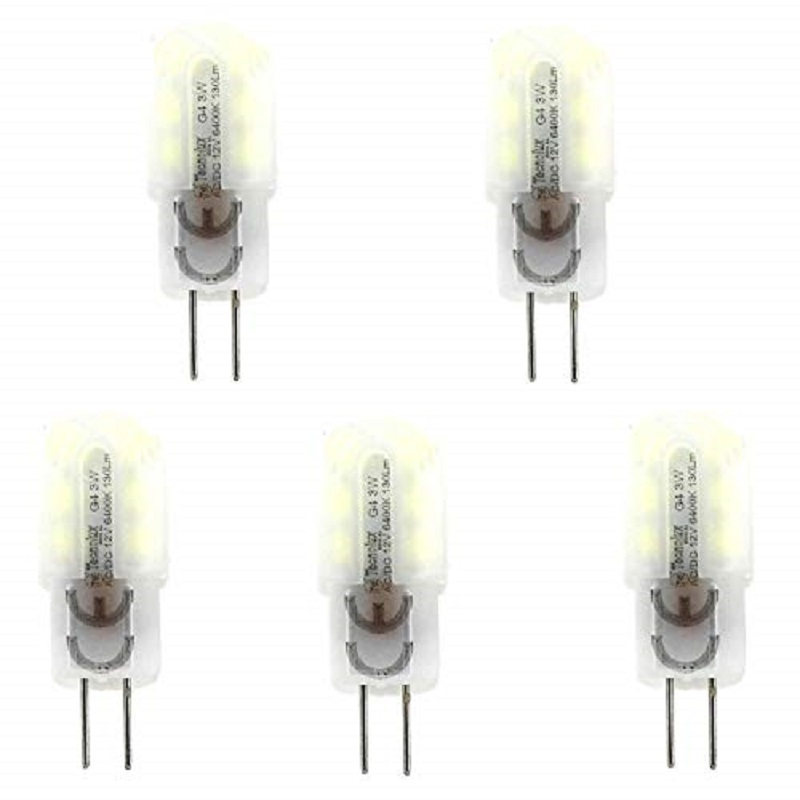 Bombilla <font><b>LED</b></font> G4 <font><b>3W</b></font> <font><b>12V</b></font> CD PACK 5 (Blanco) 43717 image