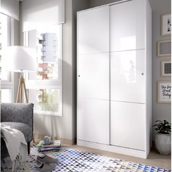 Шкаф раздвижные двери гардероба плюс горка 100 см в ширину