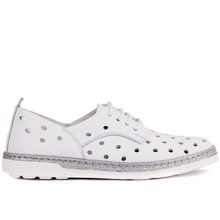 Sail Lakers   Breathable Genuine Leather Women Shoes Summer Women Causal Shoes with Hole Comfortable Sneakers Flat Shoes Female Basic Shoes Made in Turkey