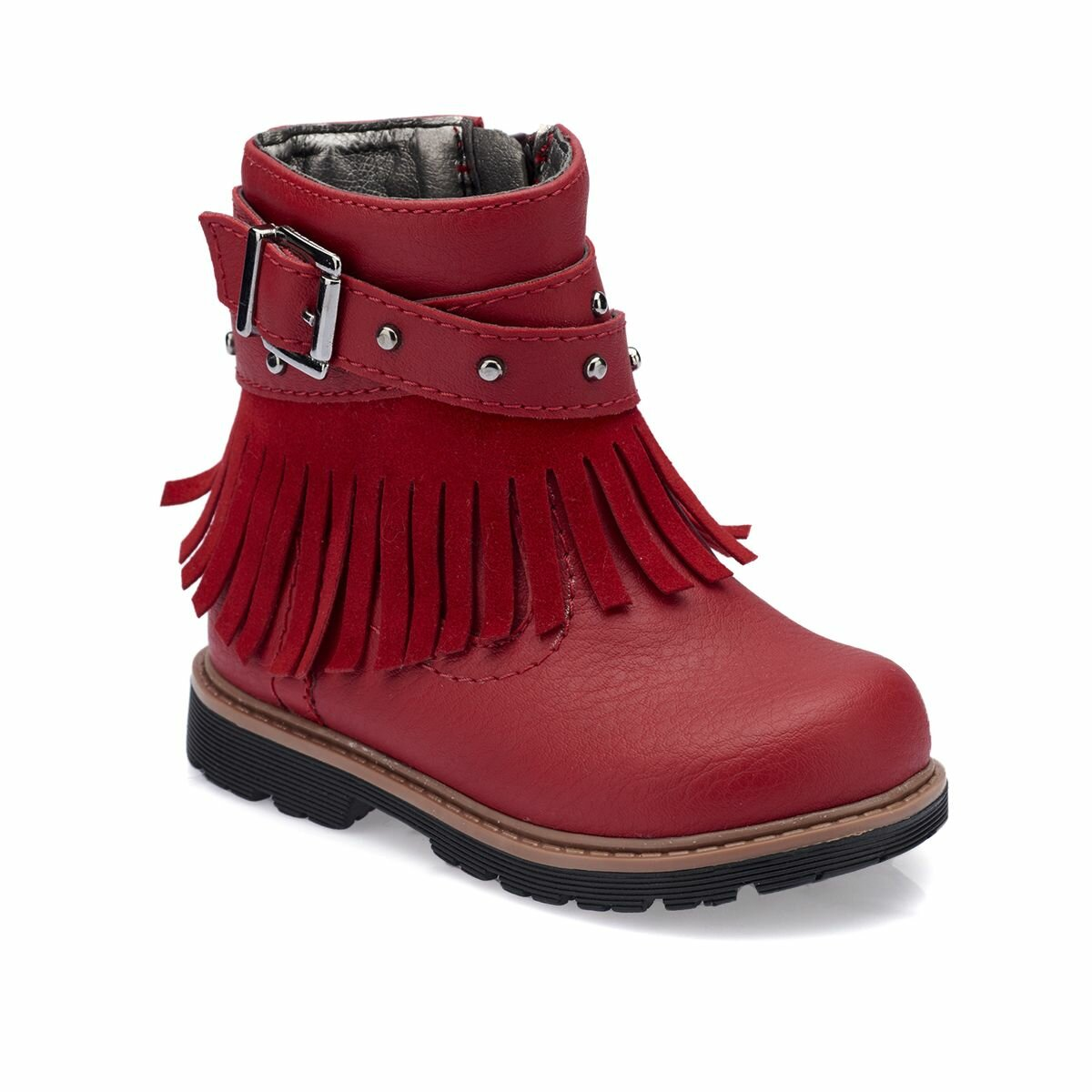 FLO 82. 510523.B Red Female Child Boots Polaris