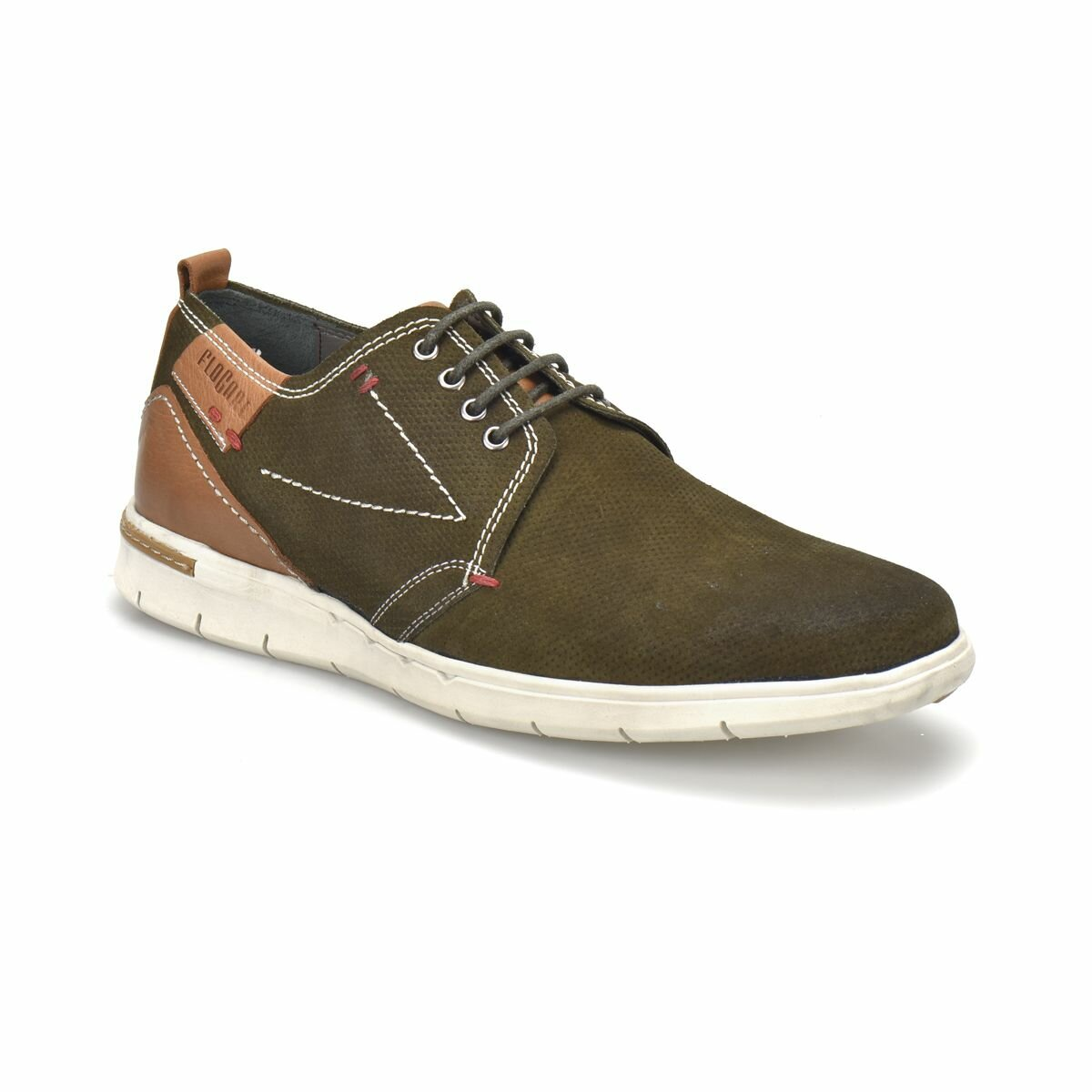 FLO Khaki Green Men's Sneakers Modern Shoes Men Flogart 321 M 1492